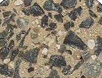 pebble concrete driveway
